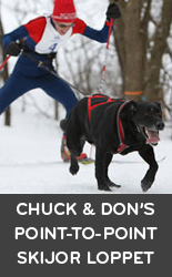 Chuck and Don's Point-to-Point Skijoring Loppet and Subaru National Skijoring Championship