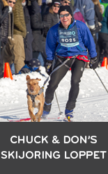 Chuck and Don's Skijoring Loppet and Subaru National Skijoring Championship