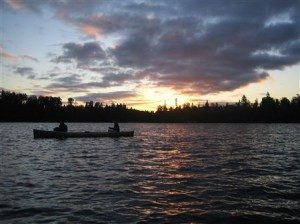 Spend a beautiful evening on the Chain of Lakes.
