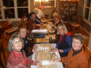 Roll up your sleeves - it's a lefse rolling party!