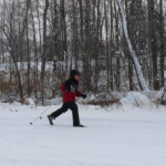 12-14-13 NSJ School Nordic skier red