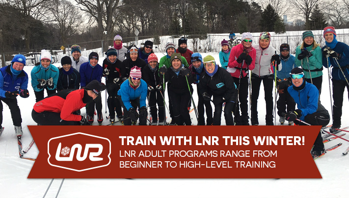 Train with LNR this winter! LNR Adult Programs range from beginner to high-level training.