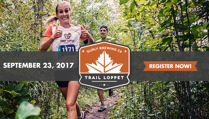 2017 Surly Brewing Co Trail Loppet - September 23, 2017 - Register Now!