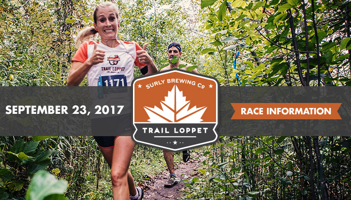 2017 Surly Brewing Co Trail Loppet - September 23, 2017 - Race Information