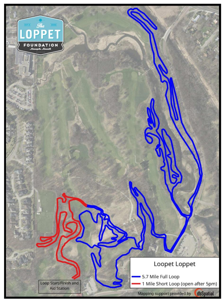 Loopet Loppet Map Thumbnail