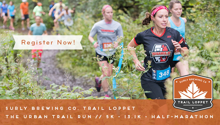Surly Brewing Co Trail Loppet - Register Now!