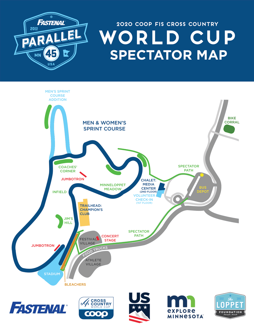 World Cup Spectator Map